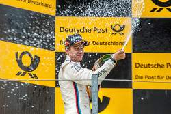 Second place Augusto Farfus, BMW Team RBM BMW M4 DTM