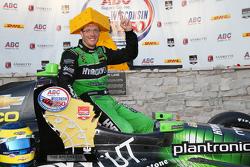 Race winner Sébastien Bourdais, KV Racing Technology Chevrolet