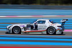 #2 HP Racing Mercedes SLS AMG GT3: Hari Proczyk, Jeroen Bleekemolen, Reinhold Renger, Carsten Tilke, Reinhard Kofler