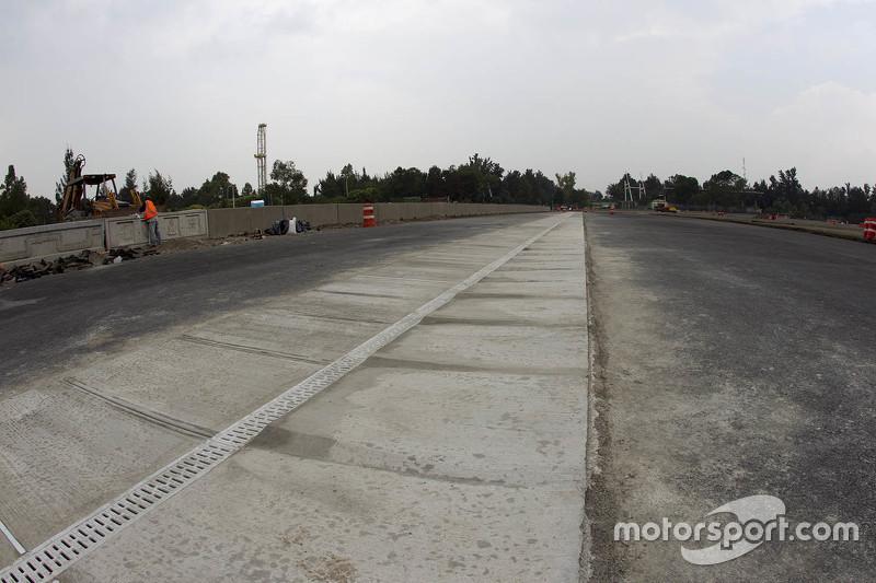 Autódromo Hermanos Rodríguez, detalles de la pista