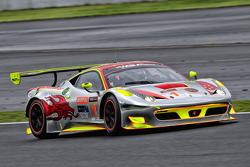 #1 Clearwater Racing Ferrari 458: Toni Vilander, Mok Weng Sun