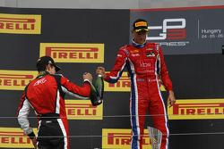 Esteban Ocon, ART Grand Prix and Kevin Ceccon, Arden International