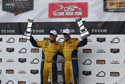 GTD Podium: Race winner #97 Turner Motorsport BMW Z4: Michael Marsal, Dane Cameron