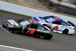 Martin Truex Jr., Furniture Row Racing Chevrolet and Trevor Bayne, Roush Fenway Racing Ford