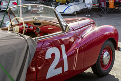 Jeff Tamkin, 1955 Sunbeam Alpine Talbot