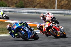 Maverick Viñales, Team Suzuki MotoGP and Dani Pedrosa, Repsol Honda Team