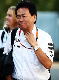 ياسوهيسا أراي، مُدير قسم رياضة السيارات في هوندا