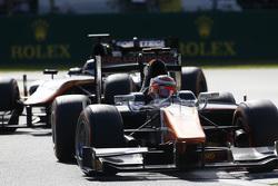 Johnny Cecotto, Trident leads Simon Trummer, Hilmer Motorsport