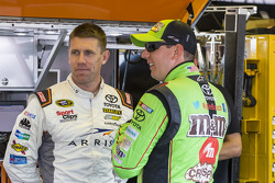 Carl Edwards, Joe Gibbs Racing Toyota and Kyle Busch, Joe Gibbs Racing Toyota