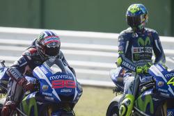 Jorge Lorenzo y Velentino Rossi, Yamaha Factory Racing