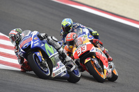 MotoGP Photos - Jorge Lorenzo, Yamaha Factory Racing and Marc Marquez, Repsol Honda Team and Valentino Rossi, Yamaha Factory Racing