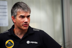 Nick Chester, Technical Director Lotus F1 Team