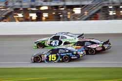 Jimmy Weller, King Autosports Chevrolet and Martin Roy and Dakoda Armstrong, Richard Petty Motorsports Ford
