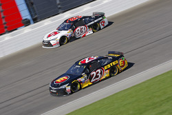 Jeb Burton, BK Racing Toyota and Matt Dibenedetto, BK Racing Toyota