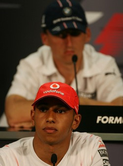 FIA press conference: Lewis Hamilton, McLaren Mercedes