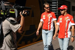 Michael Schumacher and Felipe Massa, Scuderia Ferrari