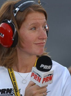 Erin Crocker working for PRN radio