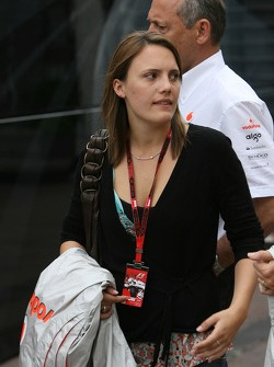 Daughter of Ron Dennis
