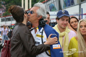 Slavica Ecclestone, Wife to Bernie Ecclestone and Flavio Briatore, Renault F1 Team, Team Chief, Managing Director