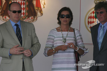 Prince Albert II of Monaco, Princess Caroline of Monaco, Ernst August V, Prince of Hanover