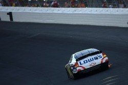 Jimmie Johnson was unable to extend his victory streak at Charlotte