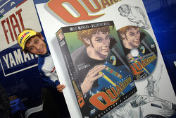 Valentino Rossi debuts his cartoon