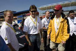 Jan Magnussen, Ron Fellows and Johnny O'Connell