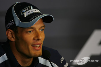 FIA press conference: Alexander Wurz, Williams F1 Team