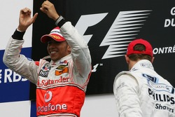 Winner, 1st, Lewis Hamilton, McLaren Mercedes, MP4-22