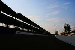 Grandstand Feature at dusk