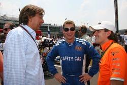 Bernd Maylander, FIA F1 & GP2 safety car driver and Markus Winkelhock, Test Driver, Spyker F1 Team