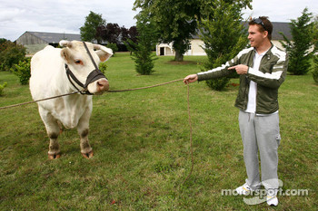 Scott Speed, Scuderia Toro Rosso and a big cow