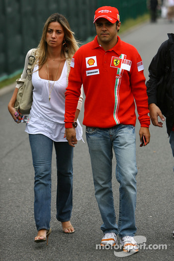 Rafaela Bassi, Girl Friend, girlfriend of Felipe Massa and Felipe Massa, Scuderia Ferrari
