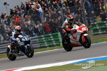 Marco Melandri and Alex Hoffman