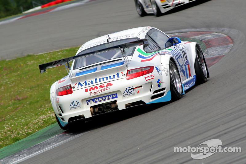 #76 Imsa Performance Matmut Porsche 997 GT3 RSR: Raymond Narac, Richard Lietz