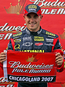 Pole winner Casey Mears