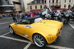 Supercars parade: a Spyker C8 Spyder