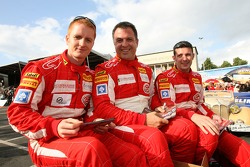 Tim Mullen, Chris Niarchos and Andrew Kirkaldy