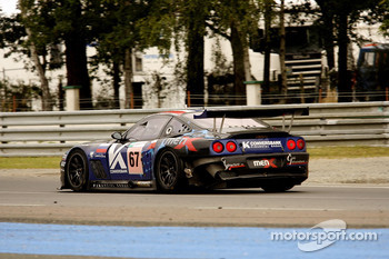 #67 Convers Menx team Ferrari 550 Maranello: Alexei Vasiliev, Tomas Kostka, Robert Pergl