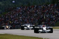 Robert Kubica,  BMW Sauber F1 Team , Nick Heidfeld, BMW Sauber F1 Team