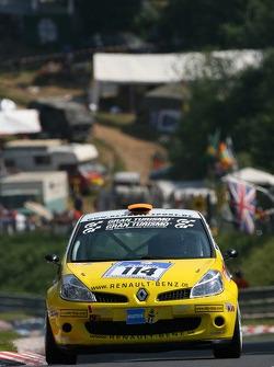 #114 Renault Clio 3 Sport: Christian Benz, Stefan Benz