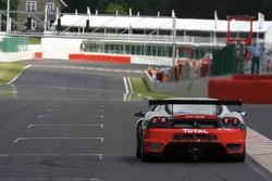 #174 Sport Garage Ferrari 430 GT3: Gael Lesoudier, François Jakubowski, Gilles Vannelet, Hector Leister