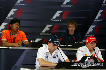 Thursday press conference: Sakon Yamamoto and Sebastian Vettel
