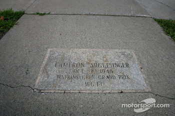 Watkins Glen racing walk of fame