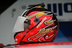 Helmet of Patrick Carpentier