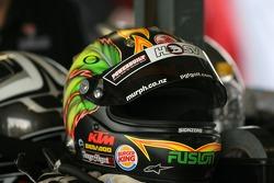 Greg Murphy's helmet