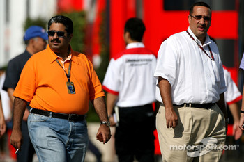 Fawaz bin Muhammed Al Khalifa Chairman of Bahrain circuit and McLaren shareholder