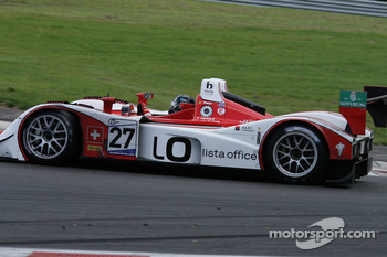 Bus stop: #27 Horag Racing Lola B05/40  Judd: Fredy Lienhard, Didier Theys, Eric Van De Poele