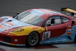 Eau Rouge: Eau Rouge: #78 Scuderia Villorba Corse Ferrari F430 GT: Alex Caffi, Denny Zardo