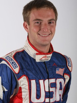 Jonathan Summerton, driver of A1 Team USA